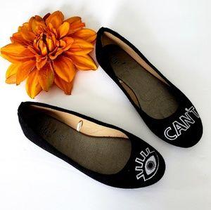 etc ! Black flats shoes
